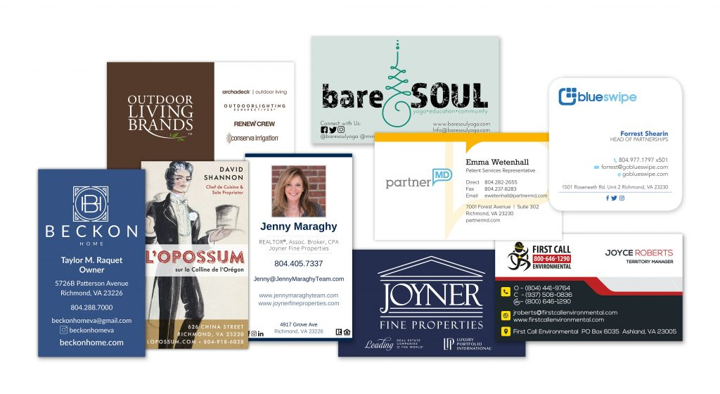 Business Card Composite