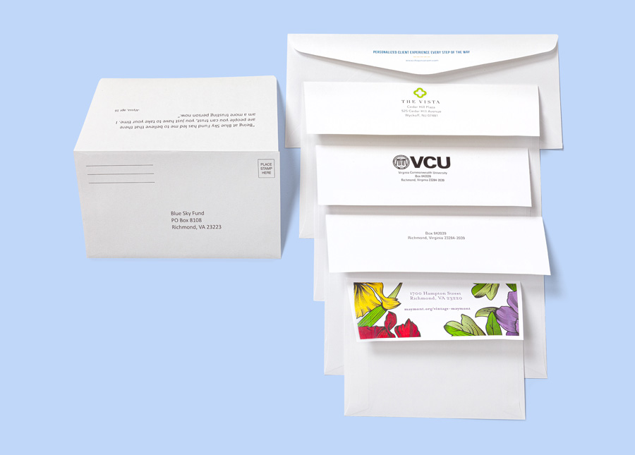 Envelope Flap Printing