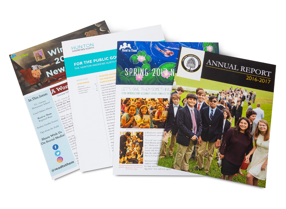 Newsletters and Annual Reports